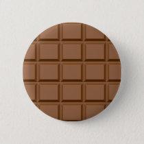 Chocolate Bar Pattern Button