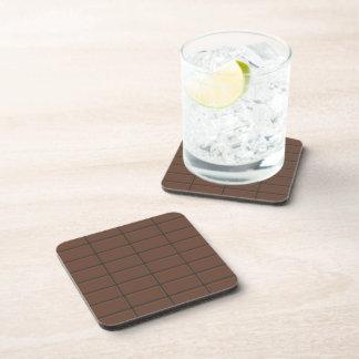 Chocolate Bar Pieces Coasters