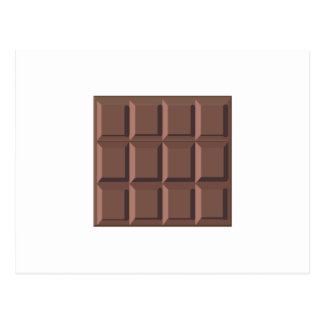 CHOCOLATE BAR POSTCARD