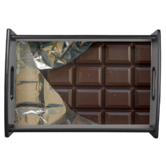 Chocolate Bar Small Serving Tray