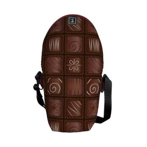 Chocolate Bar Tablet Messenger Bag