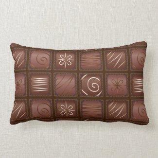 Chocolate Bar Tablet Pillow
