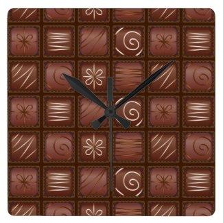 Chocolate Bar Tablet Wall Clock