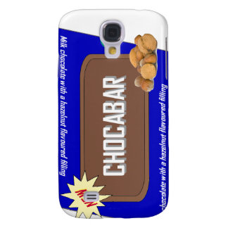 Chocolate bar with nuts samsung galaxy s4 case