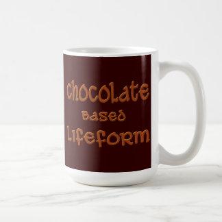 Chocolate Based Lifeform Coffee Mug