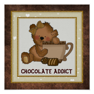 Chocolate Bear Poster