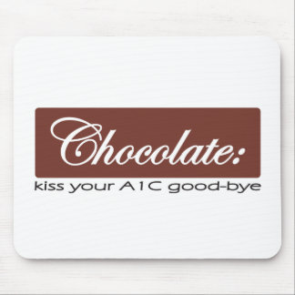 Chocolate: Bese su A1C adiós Tapetes De Ratones