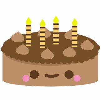 Chocolate Birthday Cake Statuette
