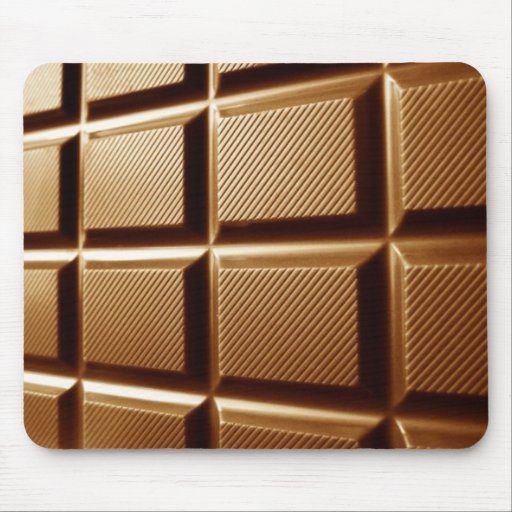 Chocolate block mousepad