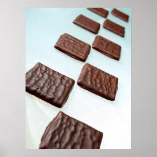Chocolate Blocks Poster