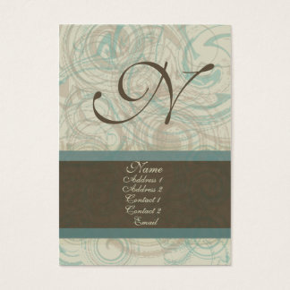 Chocolate Blues Business Card