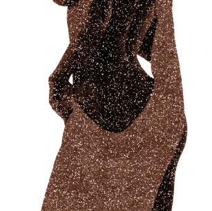 Chocolate Body Woman Beauty Wellness Brown Lamp Shade