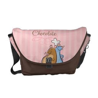 Chocolate Bolsas De Mensajeria