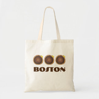 Chocolate Boston Cream Donut Donuts Doughnut Bag