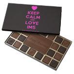 [Love heart] keep calm and love im5  Chocolate Box 45 Piece Box Of Chocolates