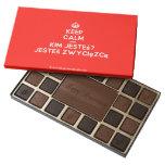 [Crown] keep calm and kim jesteś? jesteś zwycięzcą  Chocolate Box 45 Piece Box Of Chocolates