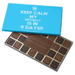 [Cupcake] keep calm my birthday is in 9 days!!  Chocolate Box 45 Piece Box Of Chocolates