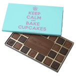 [Cupcake] keep calm and bake cupcakes  Chocolate Box 45 Piece Box Of Chocolates