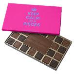 [Crown] keep calm i'm a pisces  Chocolate Box 45 Piece Box Of Chocolates