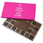 [Cupcake] keep calm and eat cake  Chocolate Box 45 Piece Box Of Chocolates