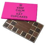 [Cupcake] keep calm and eat cupcakes  Chocolate Box 45 Piece Box Of Chocolates