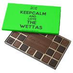 [UK Flag] keepcalm and love the wettas  Chocolate Box 45 Piece Box Of Chocolates