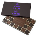 [Crown] keep calm and rep msfts  Chocolate Box 45 Piece Box Of Chocolates