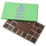 [Crown] keep calm and eat cake  Chocolate Box 45 Piece Box Of Chocolates