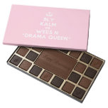 [Dancing crown] bly kalm en wees n *drama queen*  Chocolate Box 45 Piece Box Of Chocolates