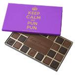 [Crown] keep calm and pun pun  Chocolate Box 45 Piece Box Of Chocolates