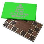 [Crown] keep calm its my little sister birthday  Chocolate Box 45 Piece Box Of Chocolates