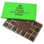 [Crown] keep calm que o jacinto é o boss  Chocolate Box 45 Piece Box Of Chocolates