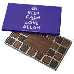 [Crown] keep calm and love allah  Chocolate Box 45 Piece Box Of Chocolates