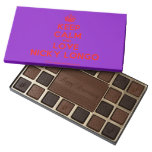 [Crown] keep calm and love nicky longo  Chocolate Box 45 Piece Box Of Chocolates