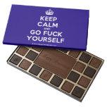 [Crown] keep calm and go fuck yourself  Chocolate Box 45 Piece Box Of Chocolates