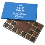 [Crown] keep calm and follow #dhc  Chocolate Box 45 Piece Box Of Chocolates