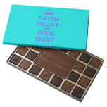 [Knitting crown] faith trust and pixie dust  Chocolate Box 45 Piece Box Of Chocolates