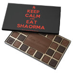 [Campfire] keep calm and eat shaorma  Chocolate Box 45 Piece Box Of Chocolates