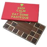 [Chef hat] keep calm and eat some pasteque  Chocolate Box 45 Piece Box Of Chocolates