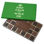 [Crown] keep calm and walk on  Chocolate Box 45 Piece Box Of Chocolates