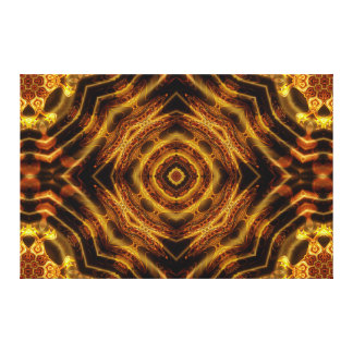 """Chocolate Box Delight"" Mandala Canvas Print"