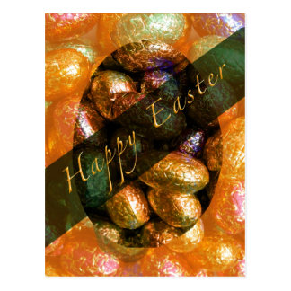 Chocolate Box Easter Postcard