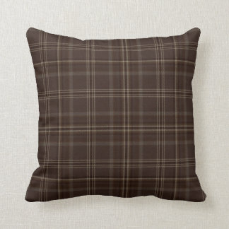 Chocolate Box Tartan Pillow