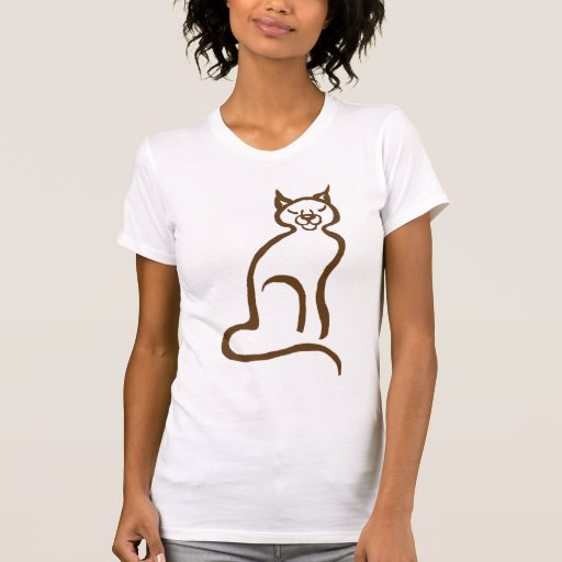 chocolate brown cat t shirts