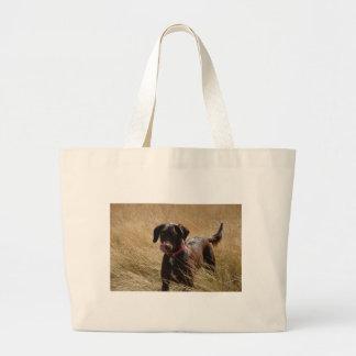 Chocolate Brown Labrador Retriever Tote Bag