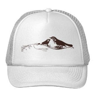 Chocolate Brown Lovebirds Trucker Hat
