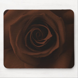 Chocolate Brown Rose Mousepad