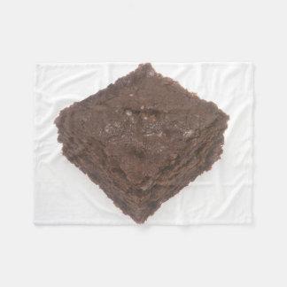 Chocolate Brownie Fleece Blanket