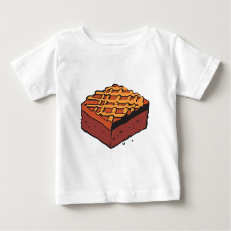 chocolate brownie infant t-shirt
