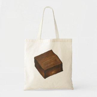 Chocolate Brownie Tote Bag